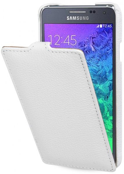 "StilGut - Samsung Galaxy Alpha leather case ""UltraSlim"""
