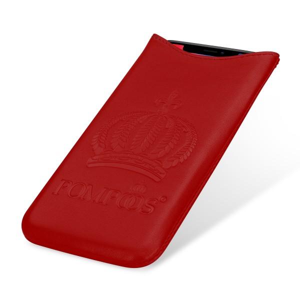 POMPÖÖS by StilGut - Smartphone Sleeve L Crown - Design by HARALD GLÖÖCKLER