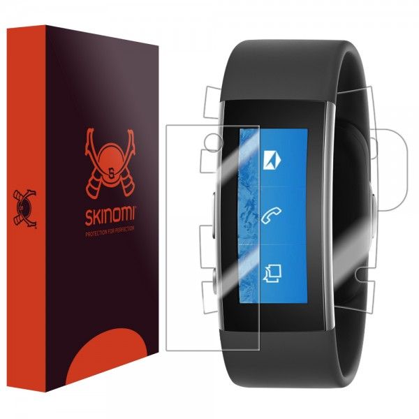 Skinomi - Microsoft Band 2 screen protector TechSkin back and front sides