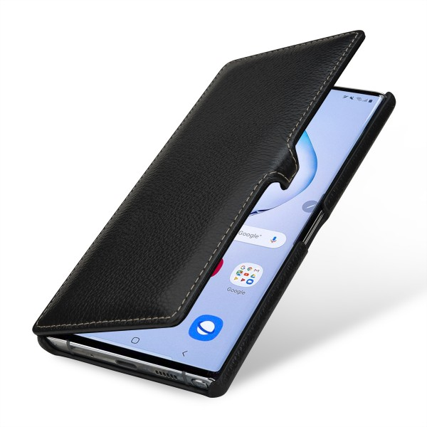 StilGut - Samsung Galaxy Note 10 Plus Cover Book Type with Clip