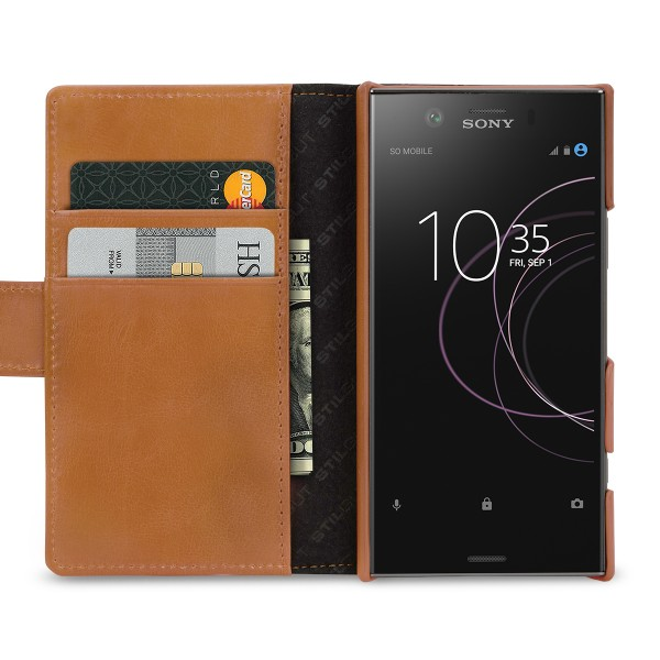StilGut - Sony Xperia XZ1 Compact Cover Talis with Card Holder