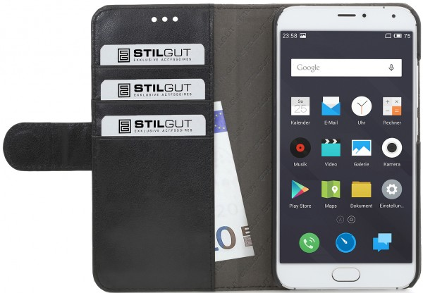 "StilGut - Meizu MX5 case ""Talis"" card-holder"