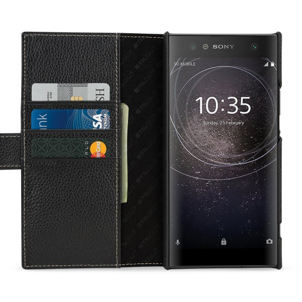 StilGut - Sony Xperia XA2 Ultra Cover Talis with Card Holder