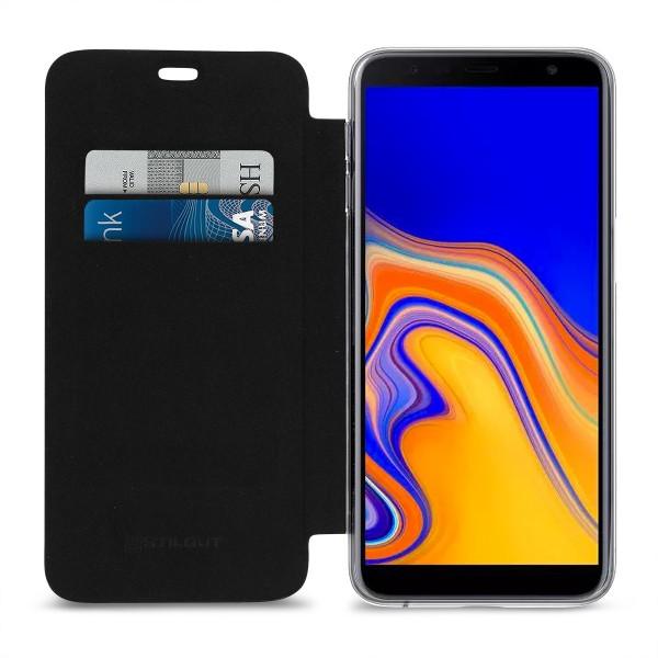 StilGut - Samsung Galaxy J6 Plus Book Type NFC/RFID Blocking Case