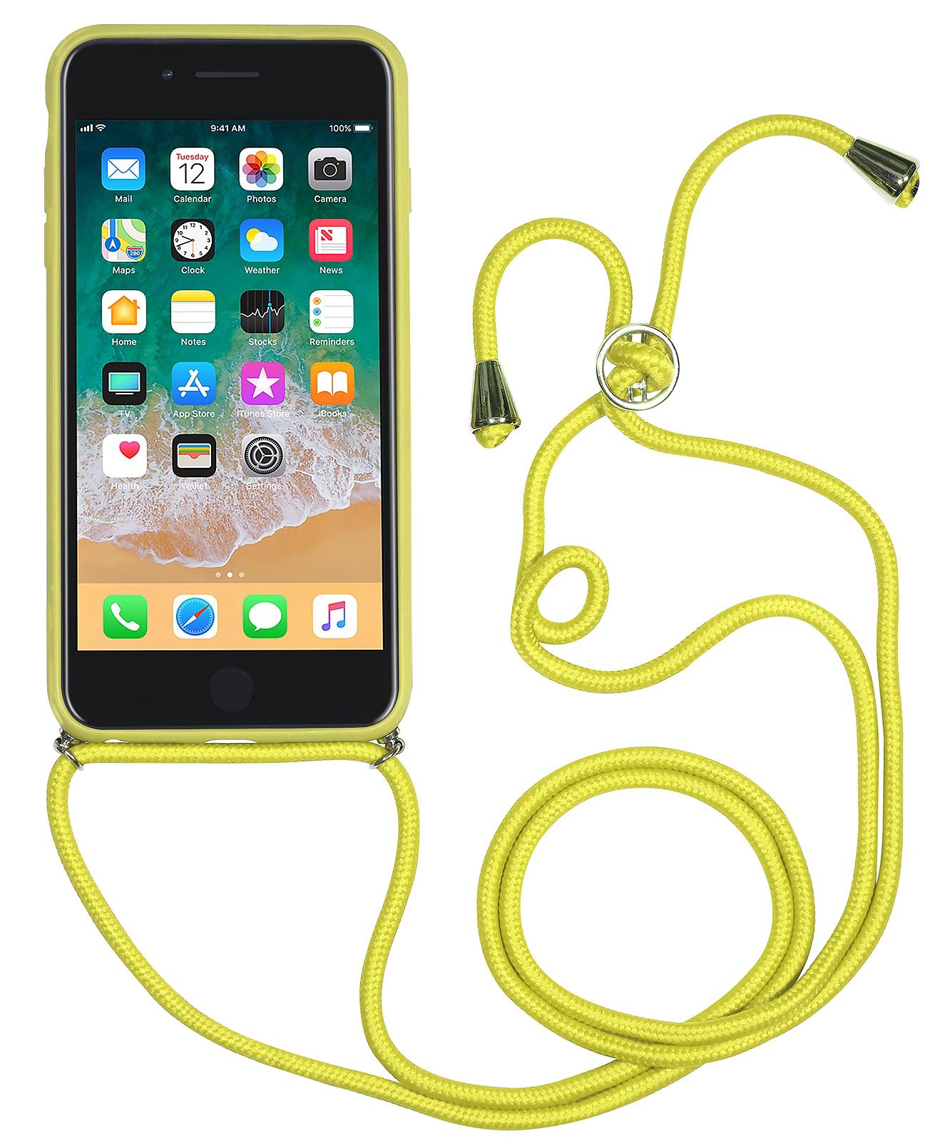 premium selection 0da05 2f41d StilGut - iPhone 7 Plus Lanyard Case with Leather