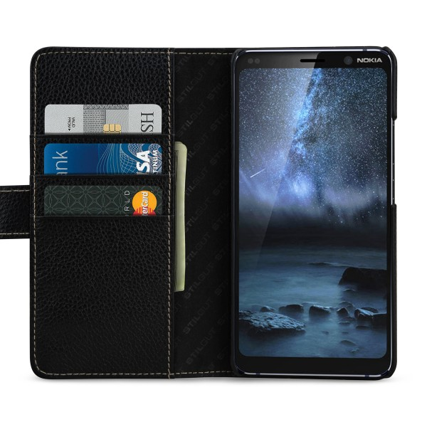 StilGut - Nokia 9 PureView Cover Talis with Card Holder