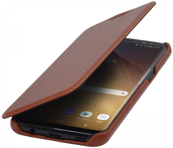 StilGut - Samsung Galaxy S8+ Cover Book Type without Clip