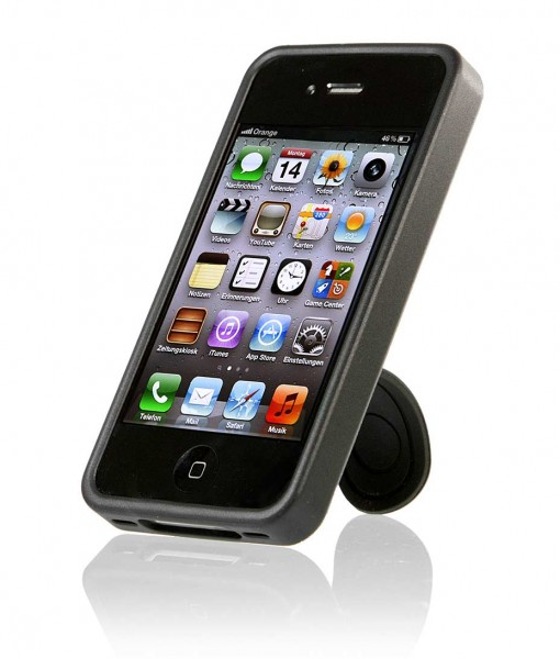 StilGut - Innovative case with support function for iPhone 4/4s