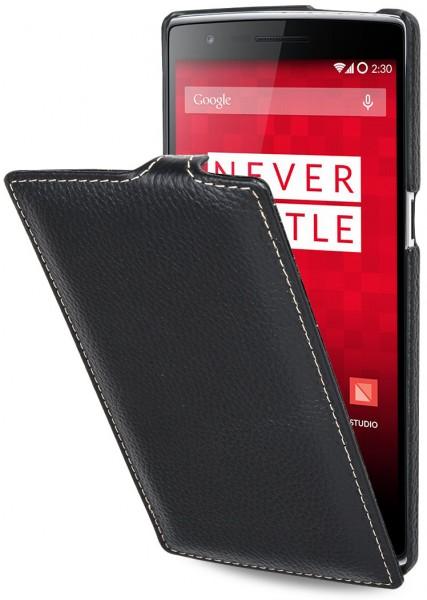 "StilGut - OnePlus One leather case, ""UltraSlim"""