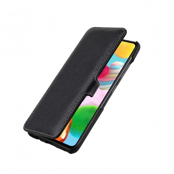 StilGut - Samsung Galaxy A41 Cover Book Type with Clip