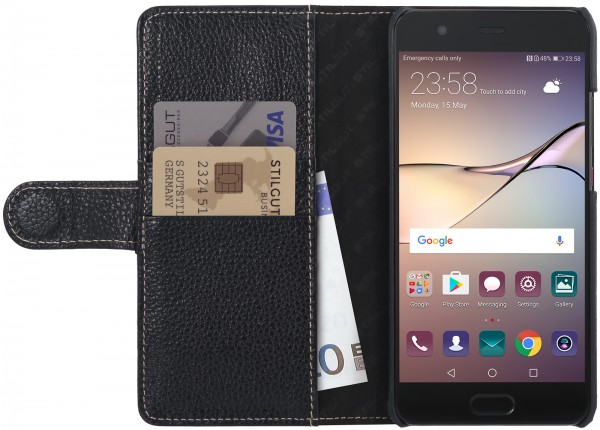 StilGut - Huawei P10 Plus Cover Talis with Card Holder