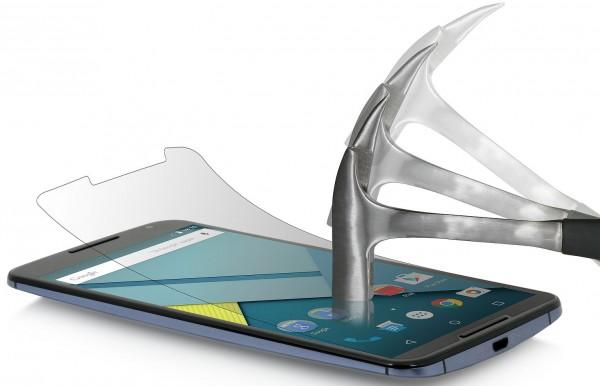 StilGut - Tempered glass screen protector for Google Nexus 6 set of 2