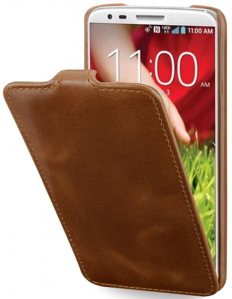 StilGut - UltraSlim Case made from leather for LG G2