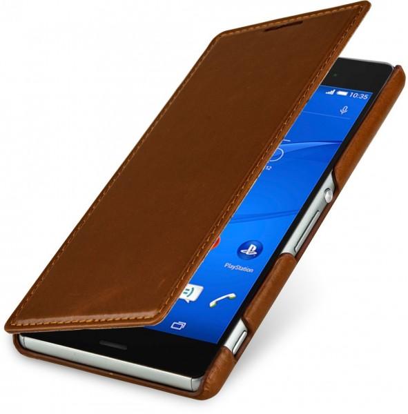 "StilGut - Sony Xperia Z3 case, ""Book Type"" without clip"