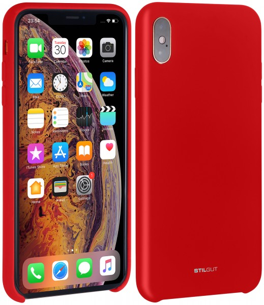 size 40 d9b4b 4bf07 StilGut - iPhone X Liquid Silicone Case