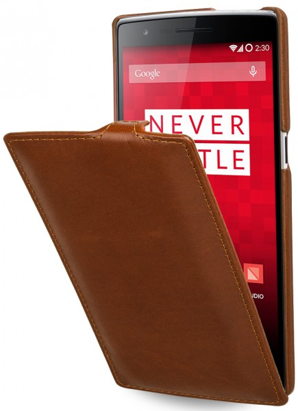 "StilGut - OnePlus One leather case, ""UltraSlim"""