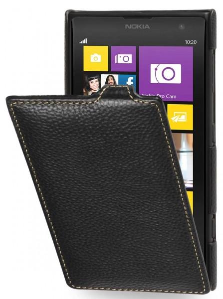 StilGut - Exclusive leather case UltraSlim for Nokia Lumia 1020