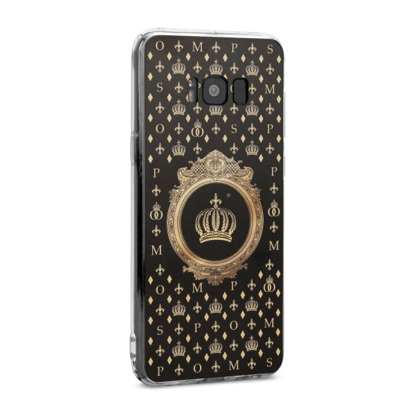 POMPÖÖS by StilGut - Samsung Galaxy S8 Plus Cover Crown - Design by HARALD GLÖÖCKLER