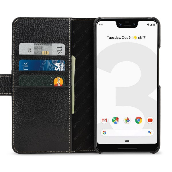 best cheap f50f3 2e425 StilGut - Google Pixel 3 XL Cover Talis with Card Holder
