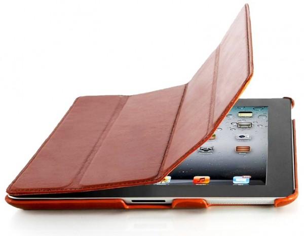 StilGut - Leather Couverture case for Apple iPad 2