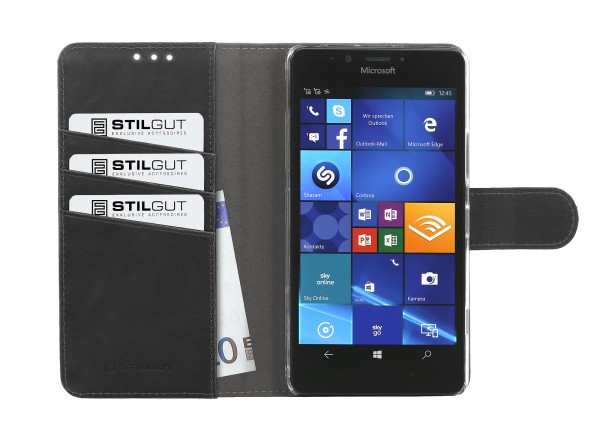 StilGut - Lumia 950 cover Talis with stand function